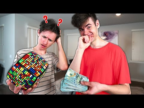 $10,000 If You Can SOLVE This IMPOSSIBLE Rubik's Cube - Challenge