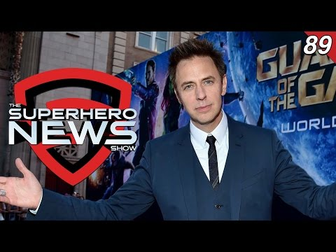 Superhero News #89: James Gunn returning for Guardians of the Galaxy Vol. 3