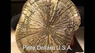 ๑۞๑ VIDEO 3 Minerali stranieri cristallizzati๑۞๑