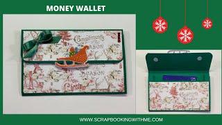 MONEY WALLET OR GIFT CARD HOLDER