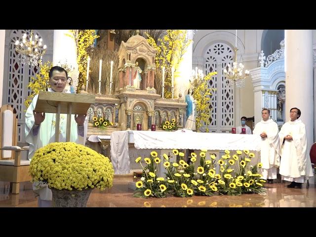 Thánh lễ Tất niên Giáo xứ Tân Định - 29/01/2021