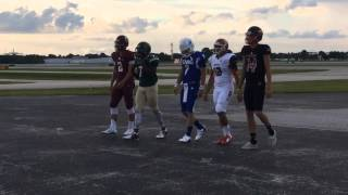 Behind the Top Guns cover shoot for Bradenton Herald 2015 football preview