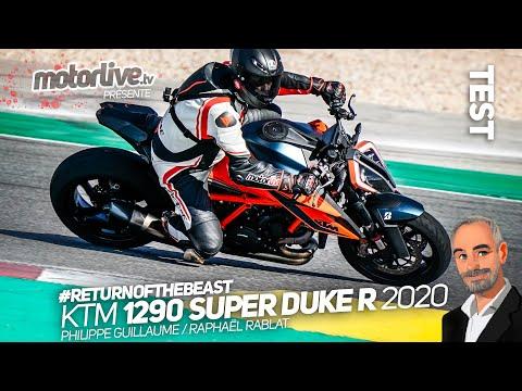 KTM 1290 Super Duke R 2020 : The Beast 3.0, addictive !   TEST M