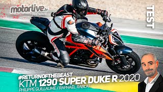 KTM 1290 SUPER DUKE R 2020 : THE BEAST 3.0, ADDICTIVE! | TEST MOTORLIVE