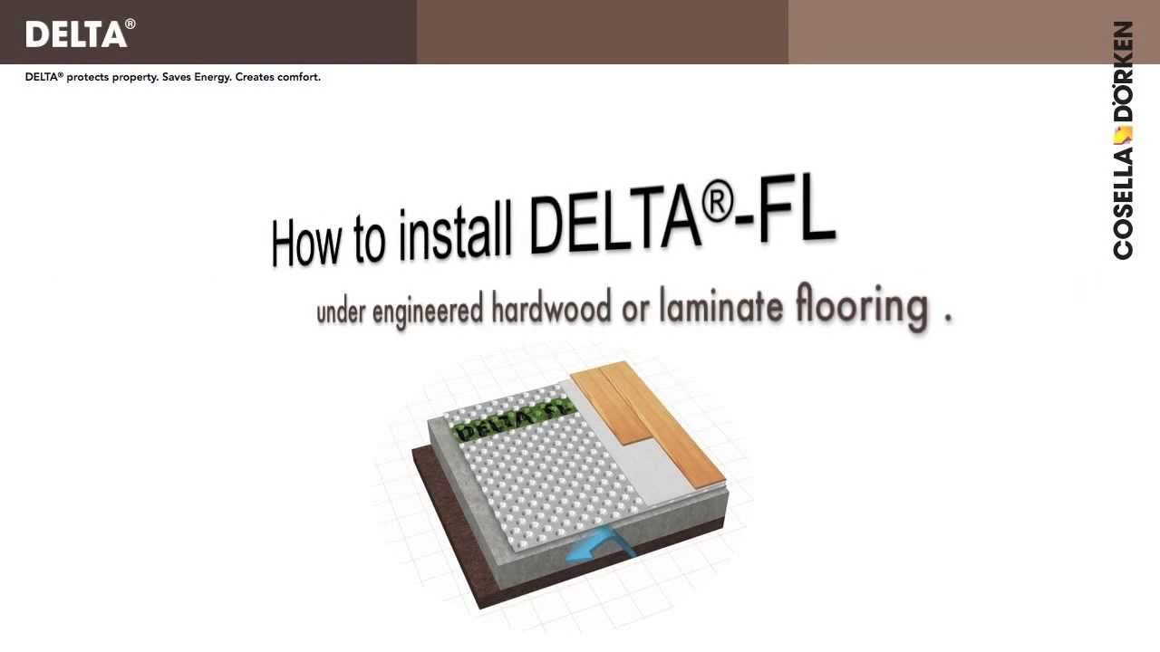 Delta Fl Premium Subfloor For Laminate Flooring In