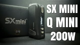 SX Mini Q Mini 200w Review - If you're thinking about one, you probably should get it