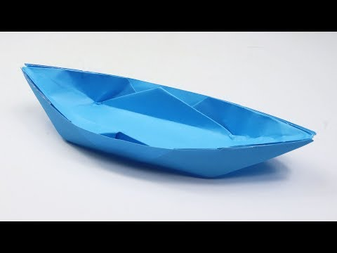 How to Make an Origami Boat - DIY Paper Boat Instructions