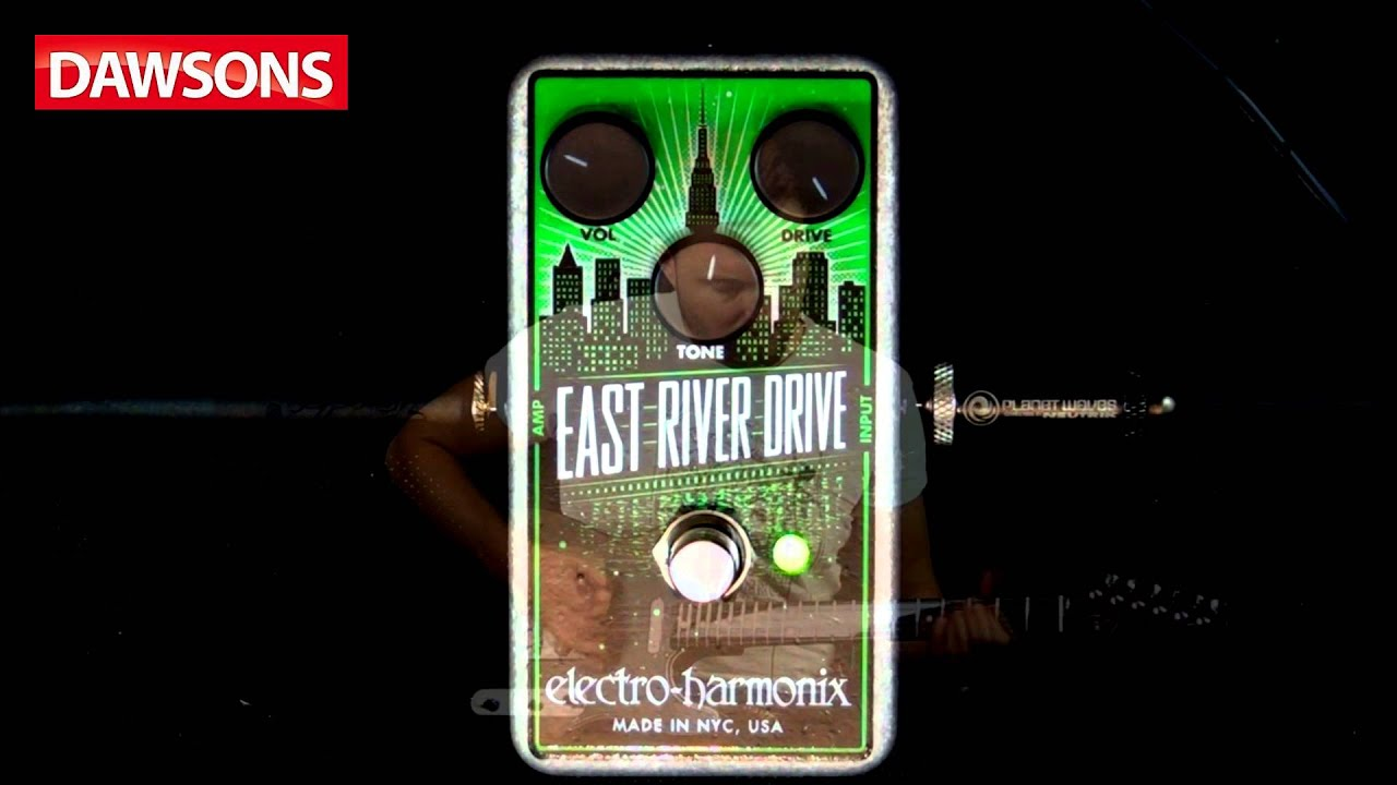 Electro Harmonix East River Drive Overdrive Pedal Review