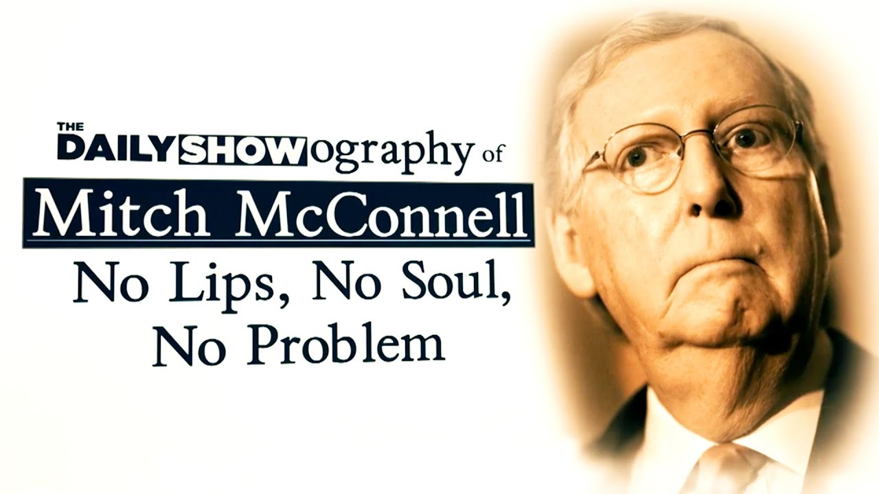 The Daily Show-ography of Mitch McConnell | The Daily Show