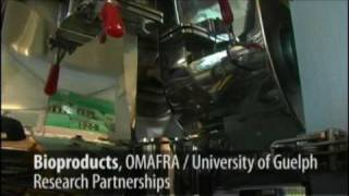 bioproducts omafra university of guelph research partnerships
