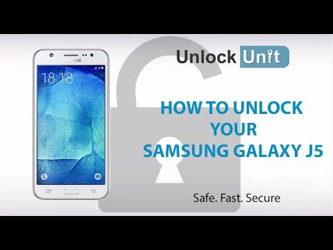 How to Unlock Samsung Galaxy J5 using Unlock Codes