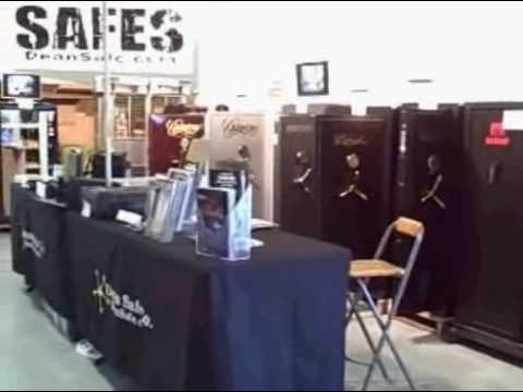 Gun Safes at the Ventura Gun show