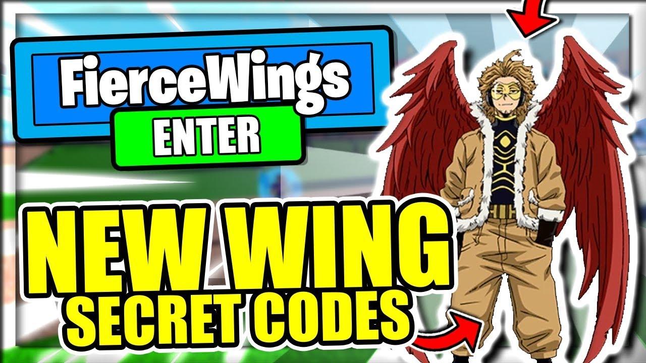 All New Secret Op Working Codes Fierce Wings Update Roblox
