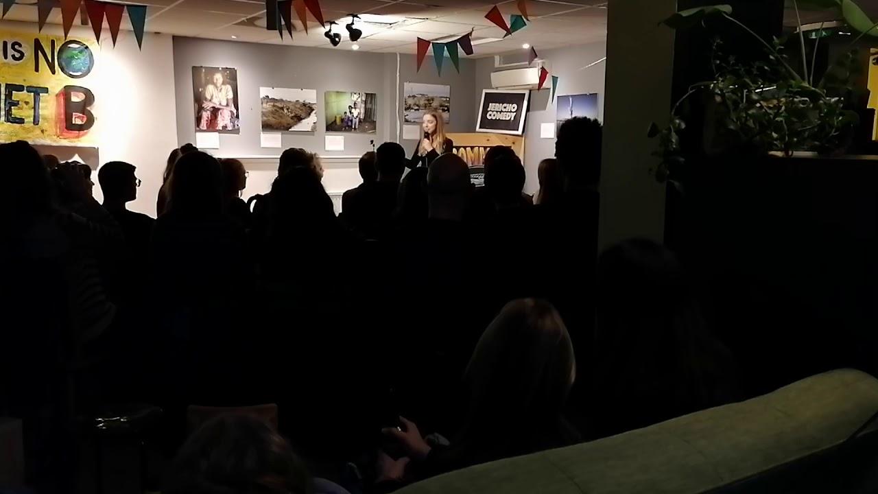 Freya McGhee at Jericho Comedy Feb 2020