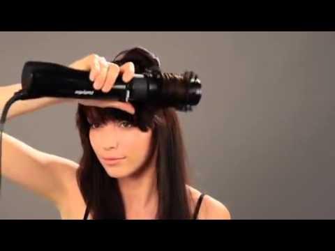 Вращающаяся фен щетка для волос