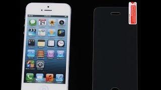 закаленное стекло для iPhone 5S  передняя и задняя часть(, 2016-05-26T13:28:34.000Z)