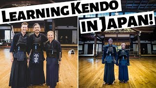 JAPANESE KENDO?! Learning Traditional Japanese Martial Art in Kyoto