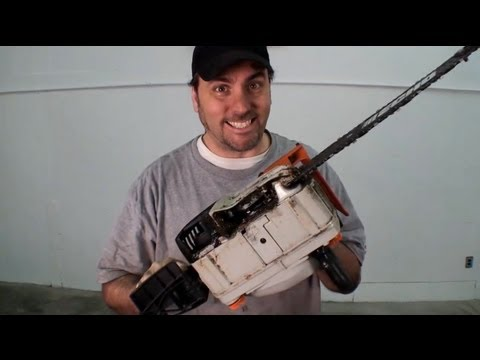 how to fix a chainsaw that won t start