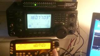 Band Decoder for Arduino - Kenwood CAT + out to Icom CIV