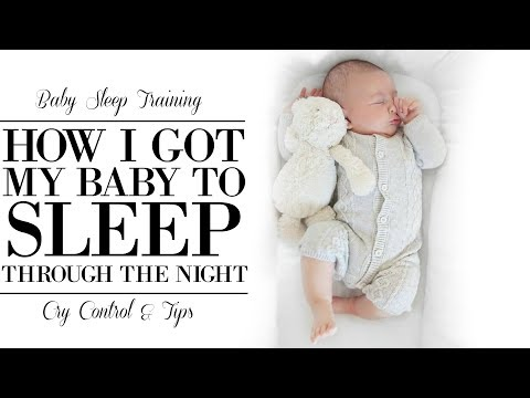 how to keep baby asleep through the night
