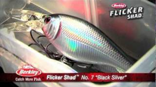Berkley Flicker Shad feat. Gary Parsons & Keith Kavajecz