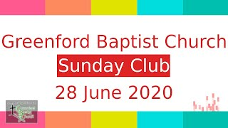 Sunday Club - 28 June 2020