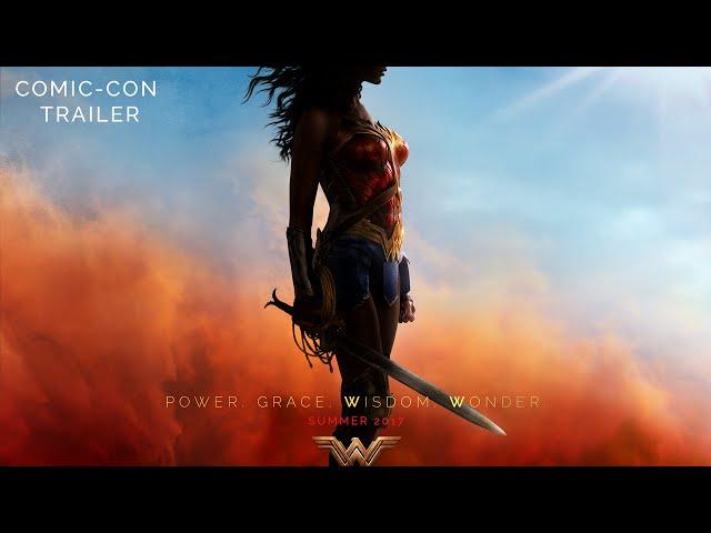 El trailer de 'La Mujer Maravilla' fue estrenado en la Comic-Con de San Diego