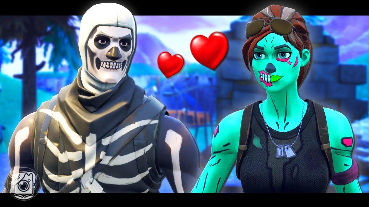 Skull Trooper Loves Ghoul Trooper A Fortnite Short Film