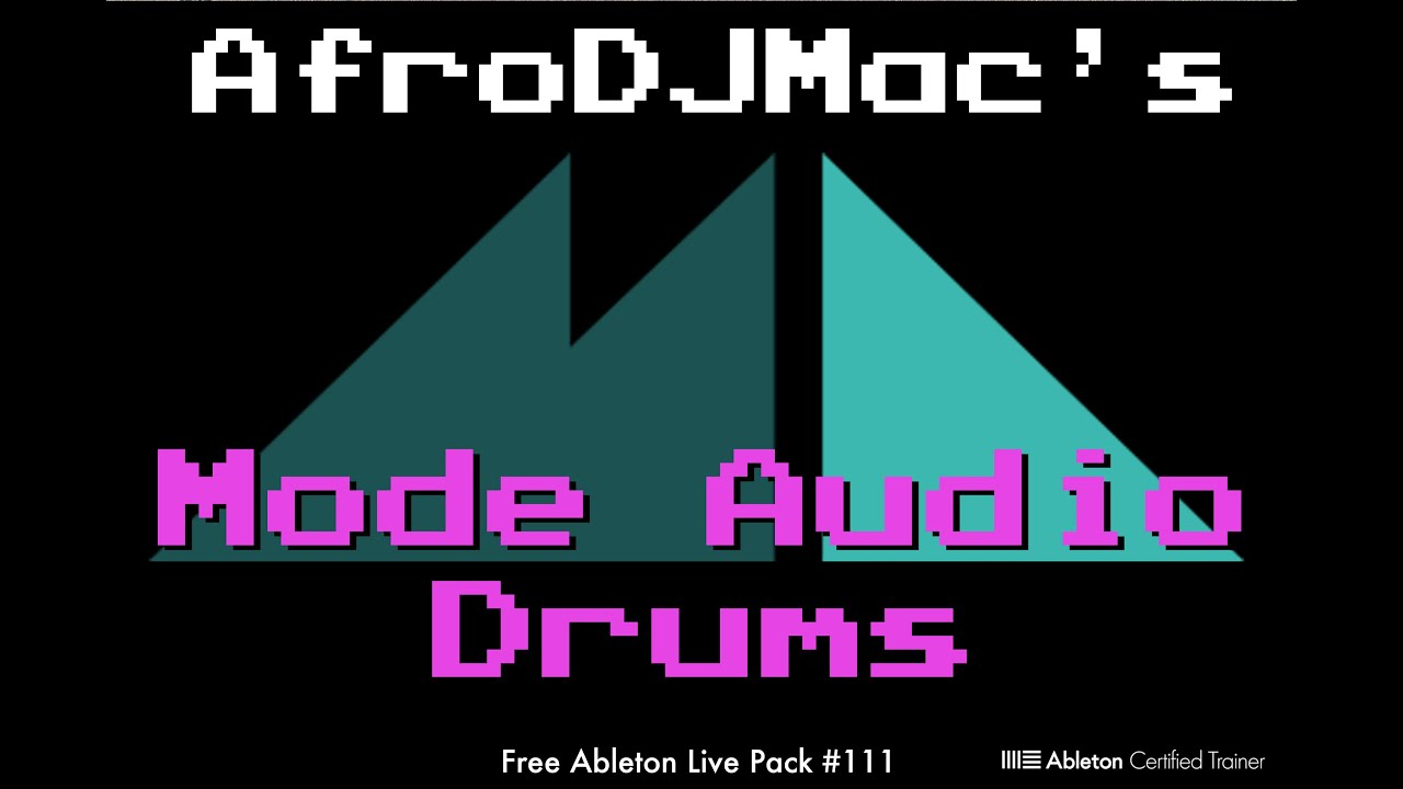 Free Ableton Live Pack #111: Mode Audio Drums — Brian Funk