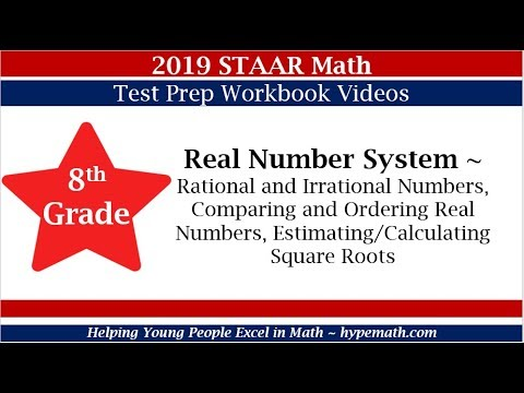 8th Grade (Number System) - 2019 STAAR Math Workbook