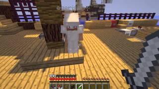 Minecraft Eğlenceli Gemi Savaşı Bölüm 5 Islak Çubuk Çok Vurur