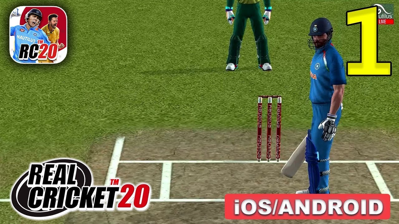 Real Cricket 20 Gameplay Walkthrough (Android, iOS) - Part 1
