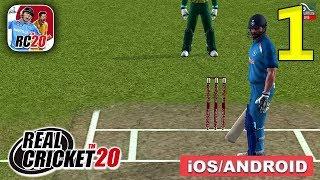 Real Cricket 20 Gameplay Walkthrough (Android, iOS) - Part 1