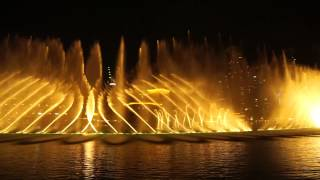 Dubai Fountain#Arabic song
