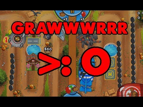 I MESSED UP! Chris Gets ANGRY - Bloons TD Battles