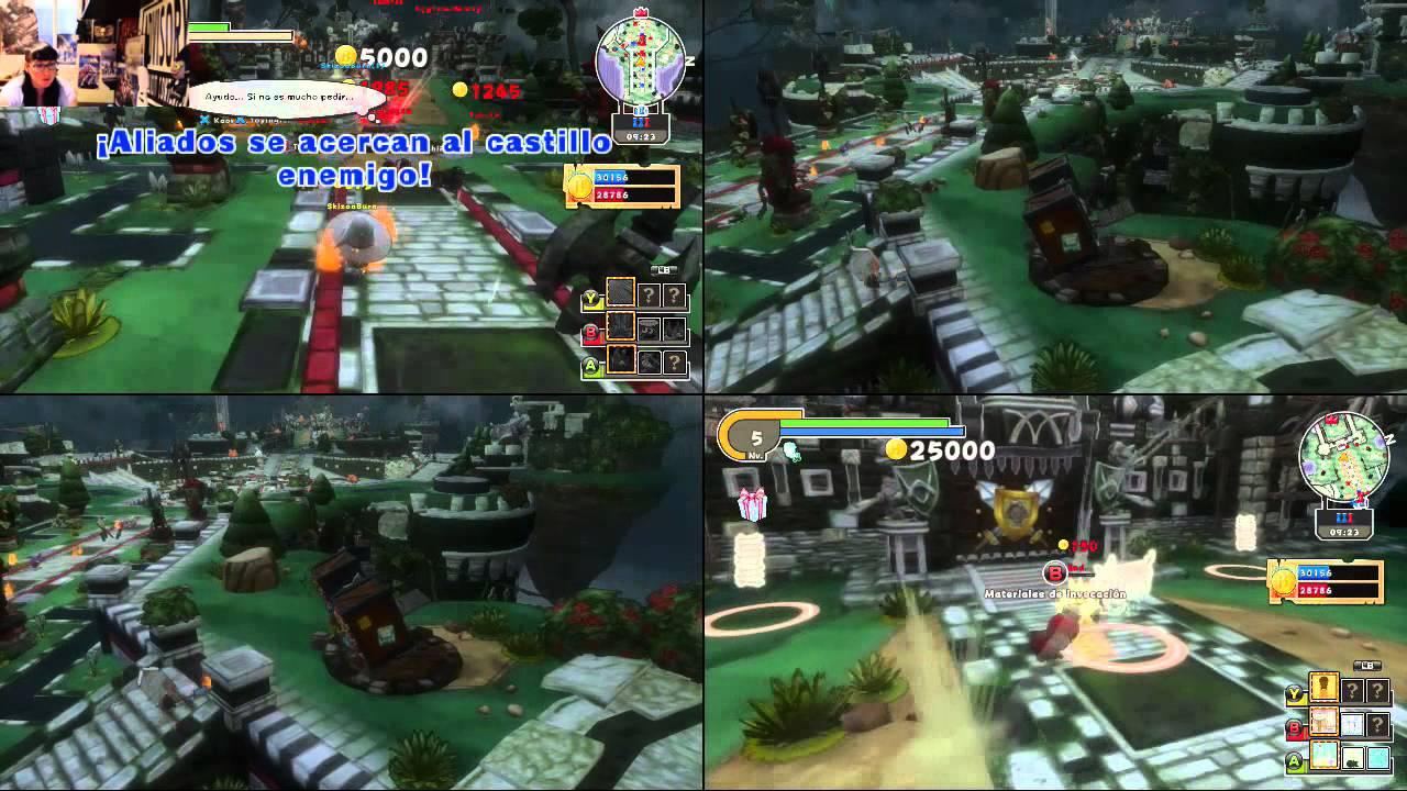 Happy Wars Xbox One Evento Especial 2 Jugadores Online Misma Consola