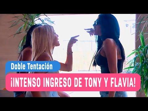 Doble Tentación - ¡El intenso ingreso de Tony y Flavia! / Capítulo 49
