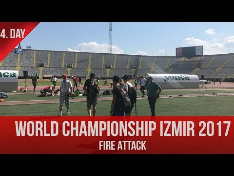Fire attack - IZMIR - 4.day - start at 11am (Turkish time)