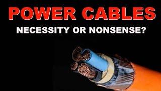 Audio Hygiene part 1: power cables