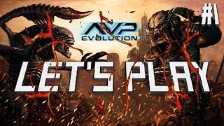 let s play avp evolution i m a hand episode 1