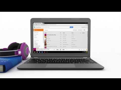 Chromebook: How to manage and listen to music