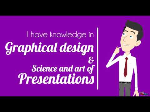 Professionally animated presentations