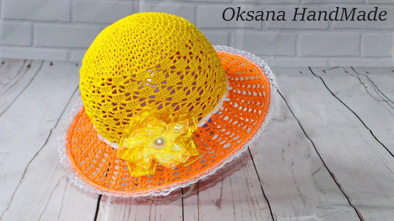 Шляпа с фруктами своими руками