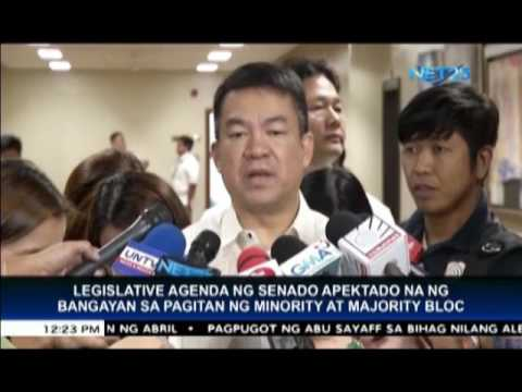 Pimentel says majority and minority lines clarified after Senate shake-up