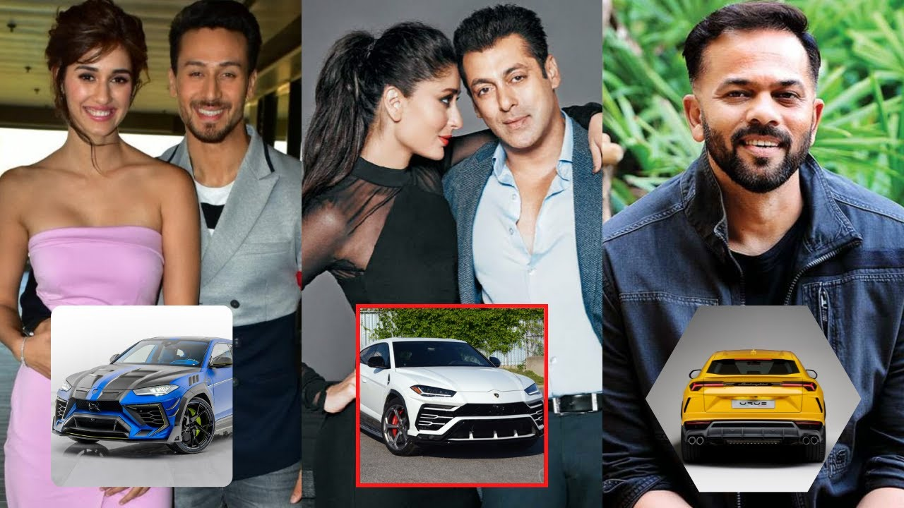 New List Of Top 6 Famous Lamborghini URUS Owners in INDIA & Bollywood - Rohit Shetty, Tiger Shroff