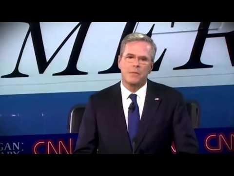 """Jeb Bush 2016 - """"Consistent"""""""