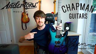 My New Guitar! Chapman Guitars V2 ML1 MODERN IN ABYSS.