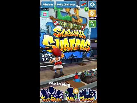 Subway Surfers CopenHagen || Mobile Gameplay || My First Score