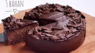 Download Kue Coklat 3 Bahan,Tanpa Oven,Tanpa Kukusan, Tanpa Telur