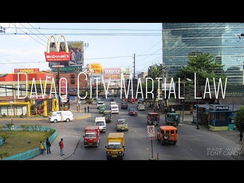 Davao Street walk Experience during Martial Law - Is it Safe?